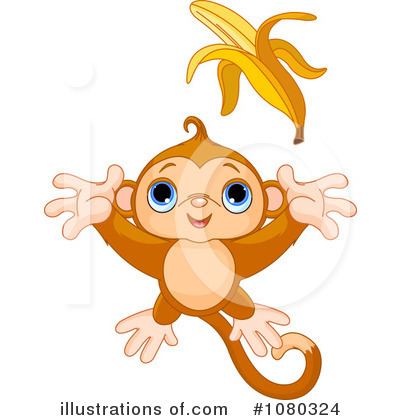 Primate Clipart #1080324 by Pushkin