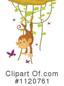 Royalty-Free (RF) Monkey Clipart Illustration #1120761