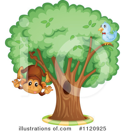 Tree Clipart #1120925 by Graphics RF