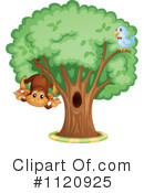 Royalty-Free (RF) Monkey Clipart Illustration #1120925