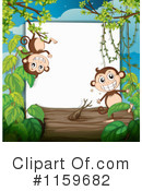Monkey Clipart #1159682 by Graphics RF