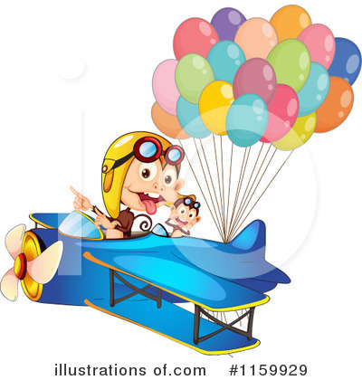 Plane Clipart #1159929 by Graphics RF