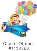 Royalty-Free (RF) Monkey Clipart Illustration #1159929
