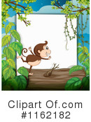 Monkey Clipart #1162182 by Graphics RF