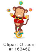Royalty-Free (RF) Monkey Clipart Illustration #1163462