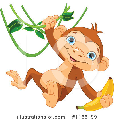 Primate Clipart #1166199 by Pushkin