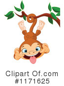 Royalty-Free (RF) Monkey Clipart Illustration #1171625