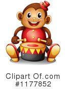 Royalty-Free (RF) Monkey Clipart Illustration #1177852
