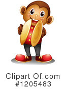 Monkey Clipart #1205483 by Graphics RF