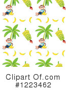 Royalty-Free (RF) Monkey Clipart Illustration #1223462