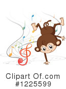 Monkey Clipart #1225599 by Graphics RF