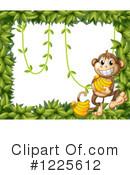 Royalty-Free (RF) Monkey Clipart Illustration #1225612
