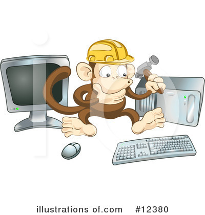 Hammer Clipart #12380 by AtStockIllustration