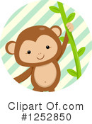 Royalty-Free (RF) Monkey Clipart Illustration #1252850