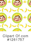 Royalty-Free (RF) Monkey Clipart Illustration #1261757
