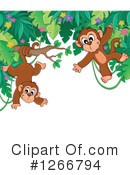 Monkey Clipart #1266794 by visekart