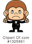 Monkey Clipart #1325861 by Cory Thoman