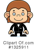 Monkey Clipart #1325911 by Cory Thoman