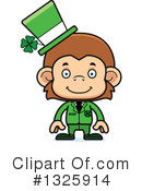 Monkey Clipart #1325914 by Cory Thoman
