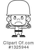 Monkey Clipart #1325944 by Cory Thoman