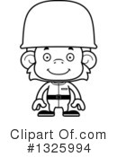 Monkey Clipart #1325994 by Cory Thoman