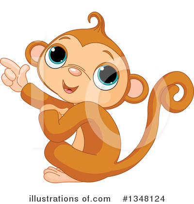 Primate Clipart #1348124 by Pushkin