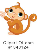 Royalty-Free (RF) Monkey Clipart Illustration #1348124