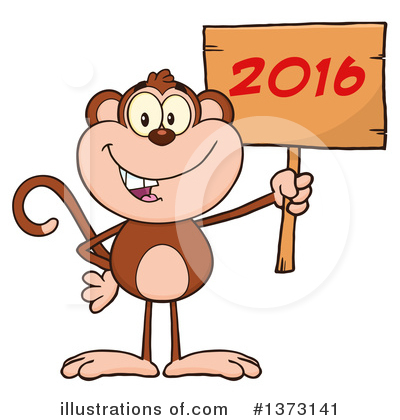 New Year Clipart #1373141 by Hit Toon