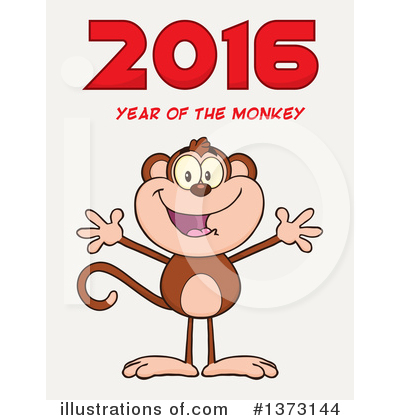 New Year Clipart #1373144 by Hit Toon