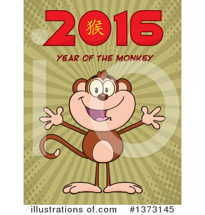New Year Clipart #1373145 by Hit Toon