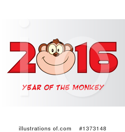 New Year Clipart #1373148 by Hit Toon