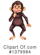 Monkey Clipart #1379984 by Graphics RF