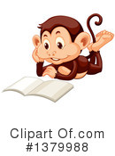 Monkey Clipart #1379988 by Graphics RF