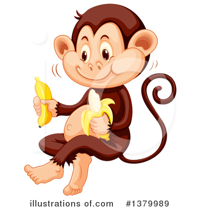 Monkey Clipart #1379989 by Graphics RF