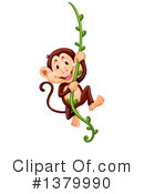 Monkey Clipart #1379990 by Graphics RF