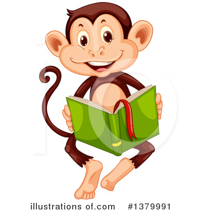 Reading Clipart #1379991 by Graphics RF