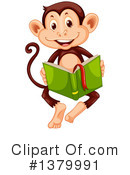 Monkey Clipart #1379991 by Graphics RF
