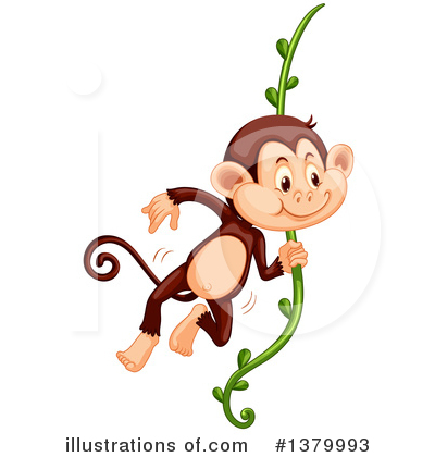 Monkey Clipart #1379993 by Graphics RF