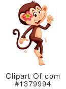 Monkey Clipart #1379994 by Graphics RF