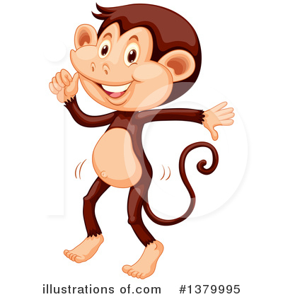 Monkey Clipart #1379995 by Graphics RF