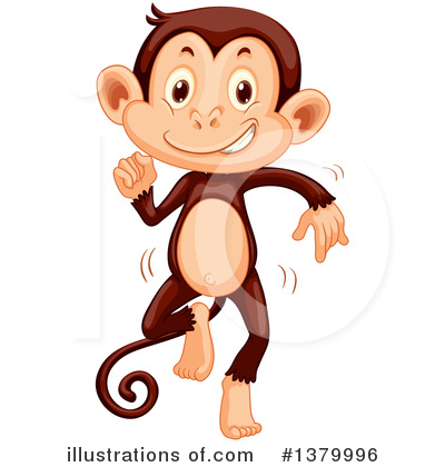 Monkey Clipart #1379996 by Graphics RF