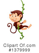 Monkey Clipart #1379999 by Graphics RF