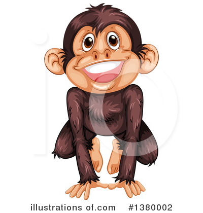 Monkey Clipart #1380002 by Graphics RF