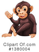 Monkey Clipart #1380004 by Graphics RF