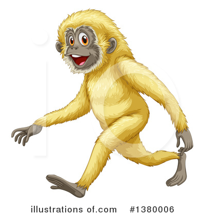 Monkey Clipart #1380006 by Graphics RF