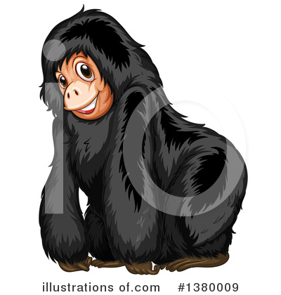 Monkey Clipart #1380009 by Graphics RF