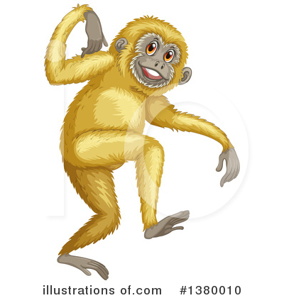 Monkey Clipart #1380010 by Graphics RF