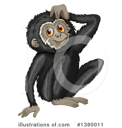 Primate Clipart #1380011 by Graphics RF