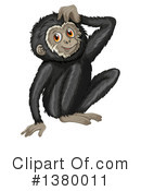 Monkey Clipart #1380011 by Graphics RF
