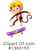 Monkey Clipart #1380150 by Graphics RF